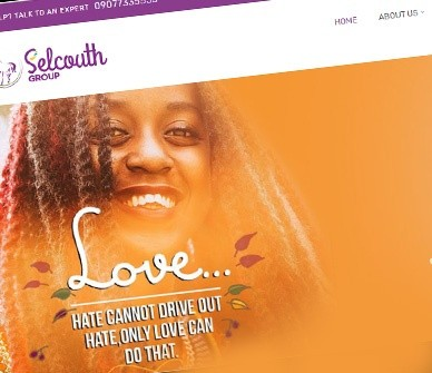 Website Design for Selcouth