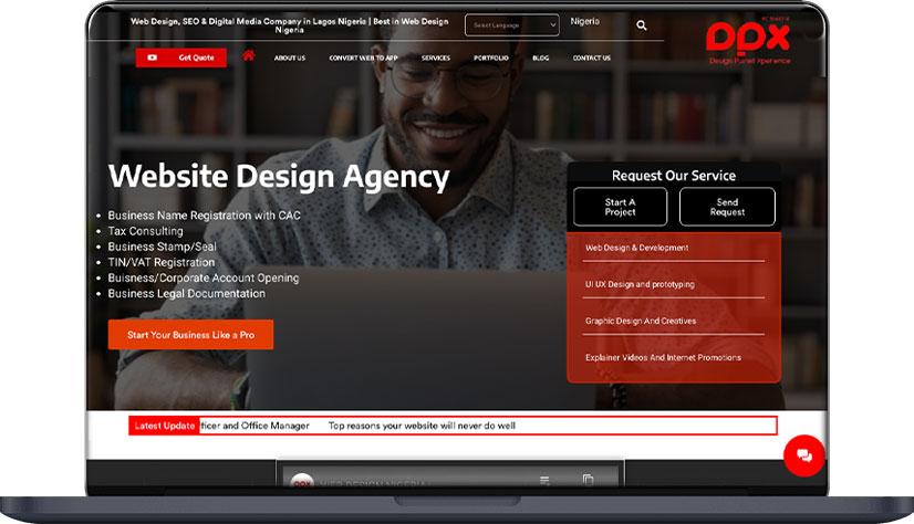 Website Design Company/Agency Nigeria